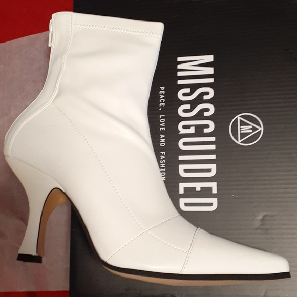 Missguided Shoes   Misguided Square Toe